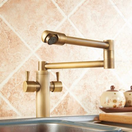 antique brass kitchen faucets how to shop for best design and quality - Brass Kitchen Sink