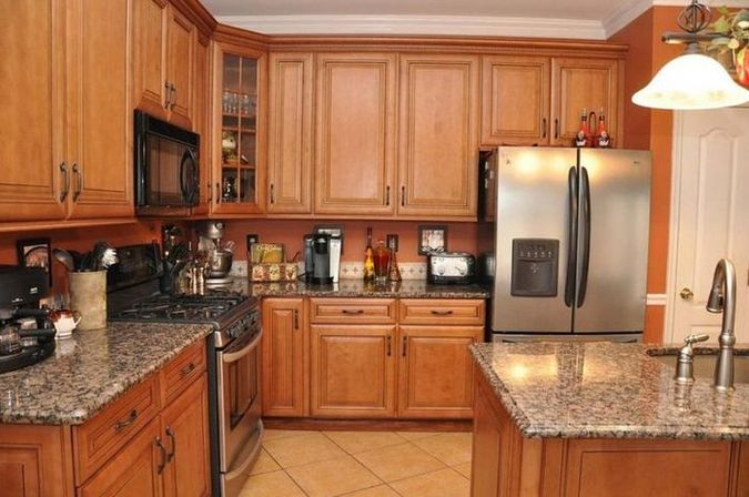5 ideas of oak kitchen cabinets