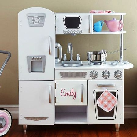 Kidkraft white vintage kitchen, 18 photo