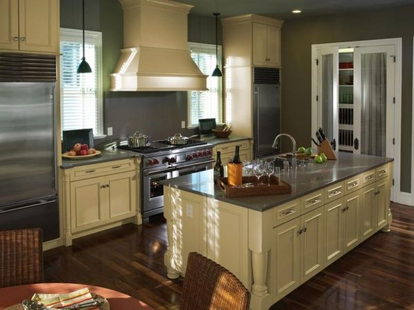 Redo kitchen cabinets: solutions