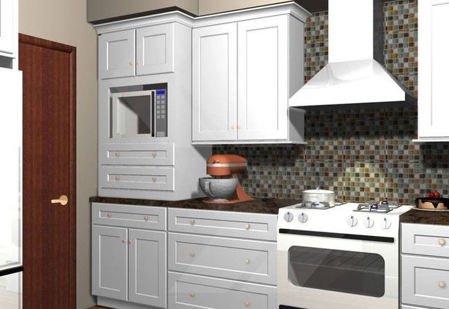 If you prefer kitchen wall cabinets