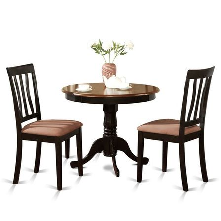 Setting a dining group in antique kitchen