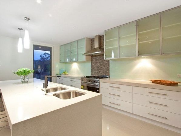 Open kitchen design – modern
