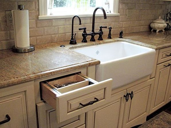5 ways to use country kitchen sinks and other