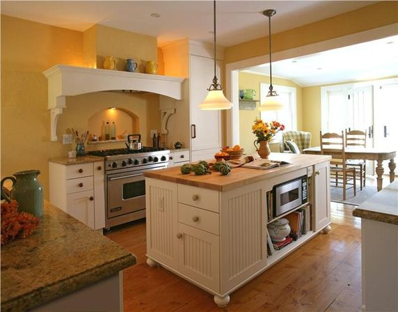 Stylistic changes with country kitchen lighting