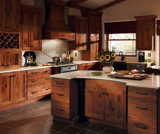 About: hickory kitchen cabinets
