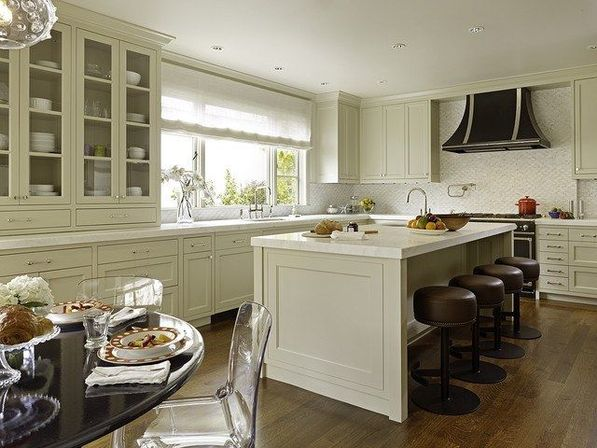 Kitchen hutch cabinets in little
