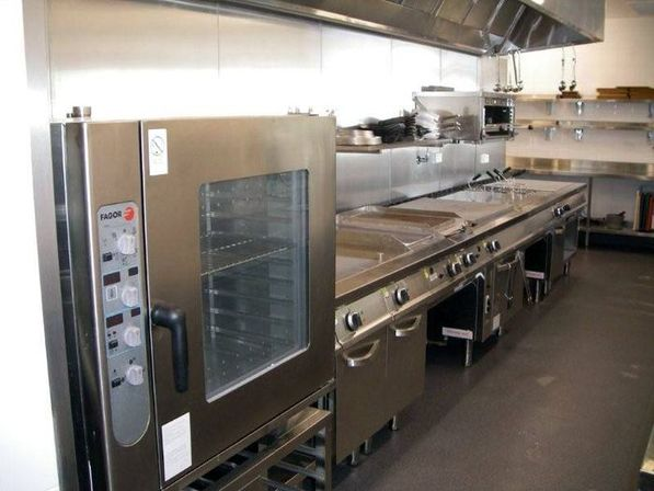 Commercial design kitchens kitchens designs ideas for Small commercial kitchen designs