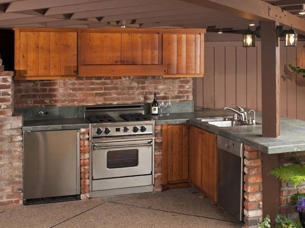 5 rules of outdoor kitchen cabinets