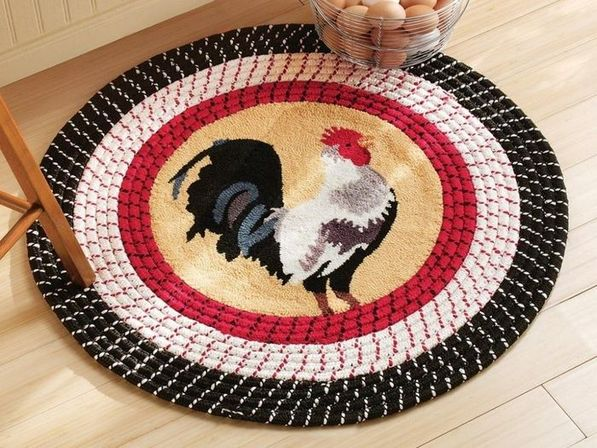 Beauteous Best Rooster Kitchen Rugs Ideas Inspired Kitchen Designs - Nambah