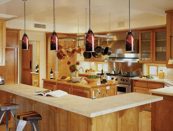 Hanging kitchen lights: how to make right choice