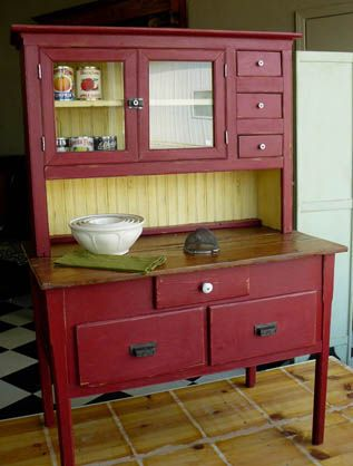 Antique kitchen hutch | Kitchens designs ideas
