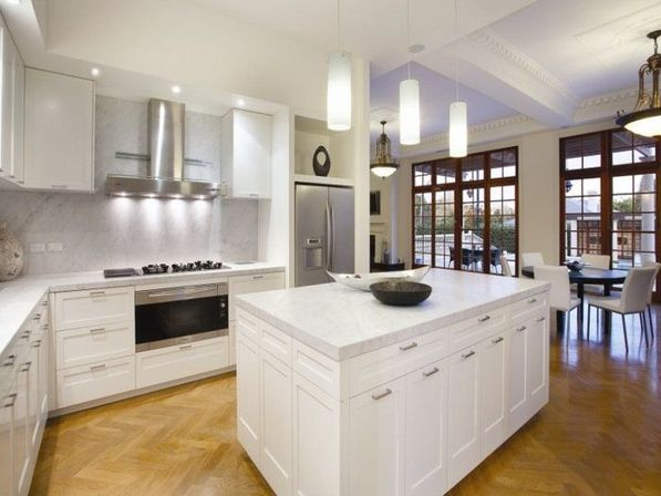 Kitchen pendant lighting options ideas and main rules  Kitchens