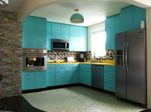 What is The Value Of The Vintage Metal Kitchen Cabinets? - Vintage Metal Kitchen Cabinets Kitchens Designs Ideas