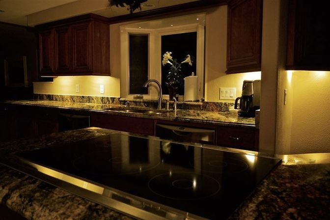 amazing kitchen cabinet lighting ceiling lights. use the ledstrip for lighting and zoning of space in a kitchen lights furniture countertops with their help make multiple tiered ceiling light that amazing cabinet e