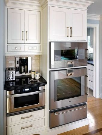 How to find the best solution to integrate a microwave for Kitchen designs microwave