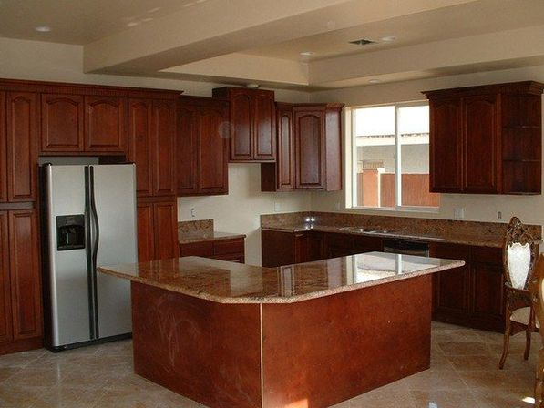 walnut kitchen cabinets