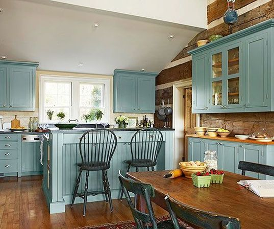 Painted Pine Kitchen Cabinets: Best Pine Kitchen Cabinets: Original Rustic Style