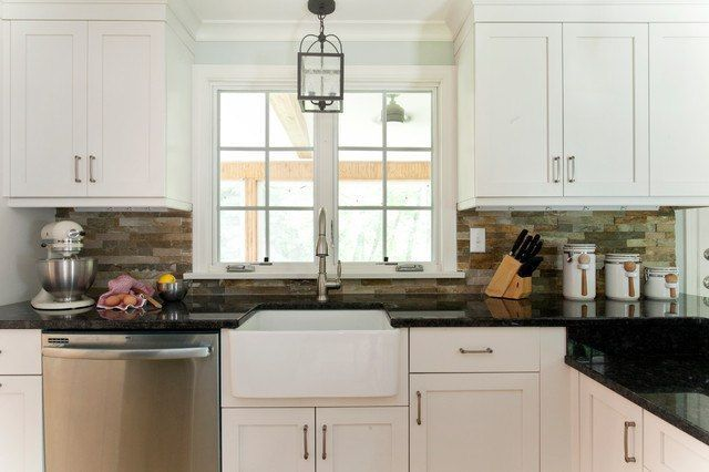 If The Kitchen In Country Style Is Not Located In A Country House And In An  Apartment And More Stylized In A Rustic Interior, Then Instead Of The Heavy  Wood ...