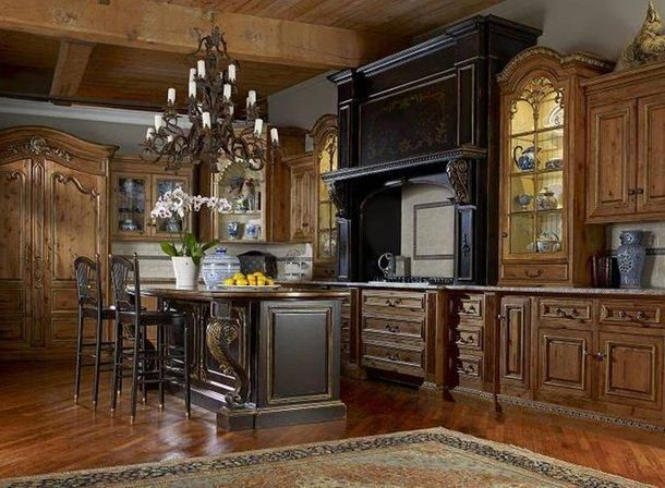 Perfect Acoustics In The Tuscan Kitchen Design Part 17