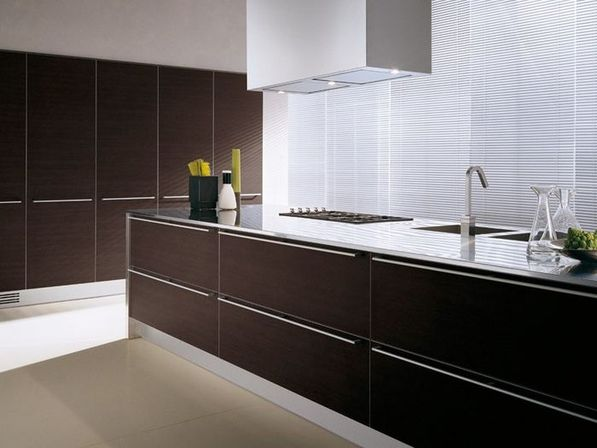 High Quality The Main Problem Is Exposure To Direct Sunlight, Which Tends To Fade  Laminated Surfaces. Considering Blinds Or Window Film Can Preserve Cabinets  From Fast ...
