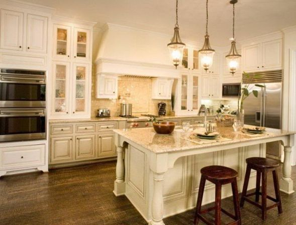 Superbe Benefit Of White Antique Furniture. White Antique Kitchen Cabinets ...