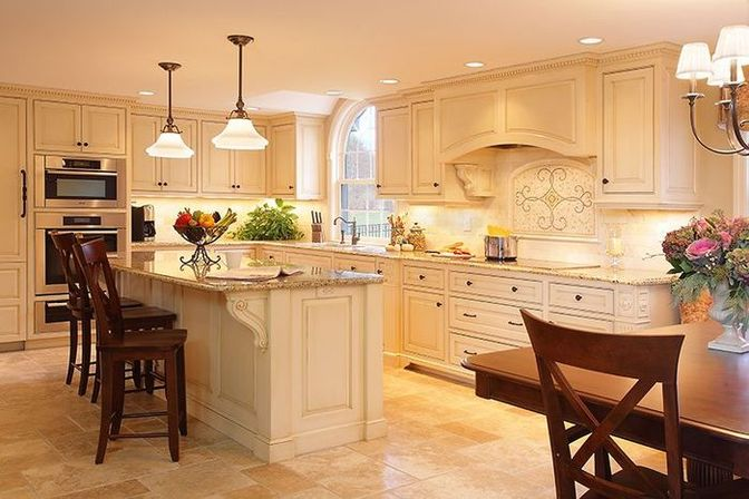 Glazed kitchen cabinets kitchens designs ideas for Pictures for kitchen