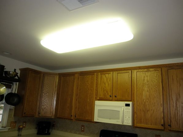 Kitchen Light Fixs Ceiling Fluorescent Roselawnlutheran