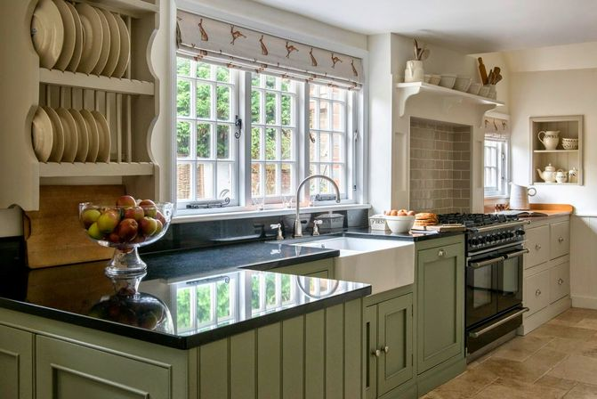 Country kitchen curtains ideas views kitchens designs ideas for Modern country kitchen design ideas