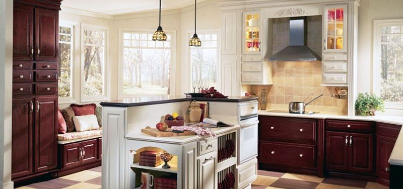 Wood. One of the important features of the Thomasville kitchen cabinetry ... - Thomasville Kitchen Cabinets: Values Kitchens Designs Ideas