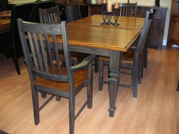 Country kitchen chairs and other main thing kitchens for Kitchen table and chairs set