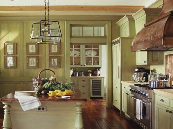 Antique kitchen decor: magic of details | Kitchens designs ...