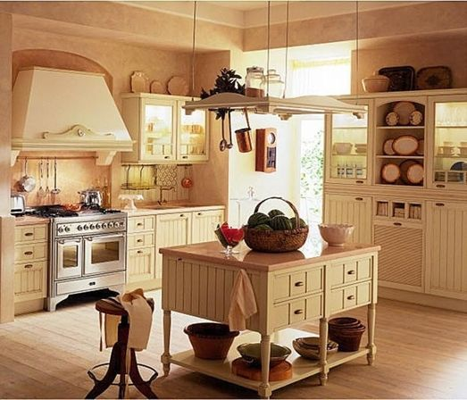 Old country kitchens 10 ways make kitchens designs ideas for Old country style kitchen ideas