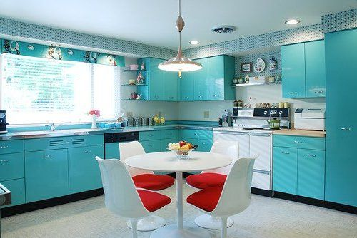 There Are 4 Steps To Save Vintage Metal Kitchen Cabinets