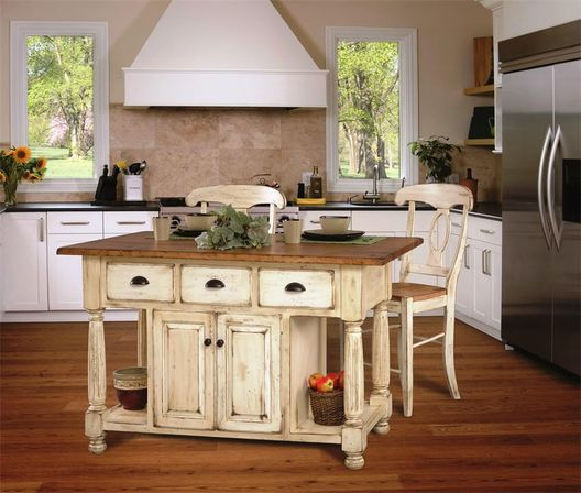 Country Kitchen Designs With Islands country style kitchen island: 5 ways to use | kitchens designs ideas