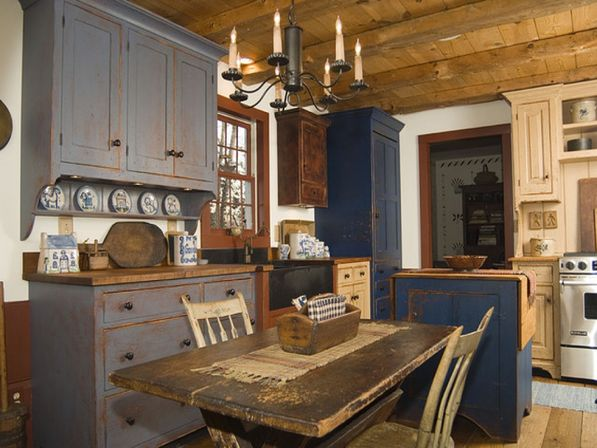 Old country kitchens 10 ways make