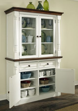 Kitchen hutch cabinets in little kitchens designs ideas for Kitchenette cabinets
