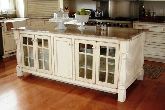 Country style kitchen island 5 ways to use kitchens for Custom kitchen island for sale