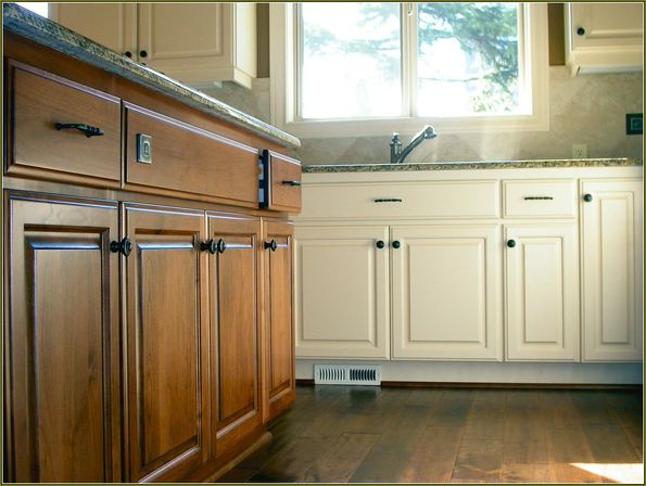 wonderful Kitchen Used Cabinets #10: The best paint to use on kitchen cabinets