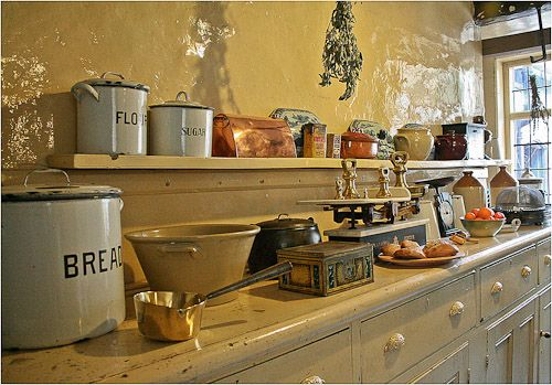 Antiq Kitchen Set Design Ideas ~ Antique kitchen decor magic of details kitchens designs
