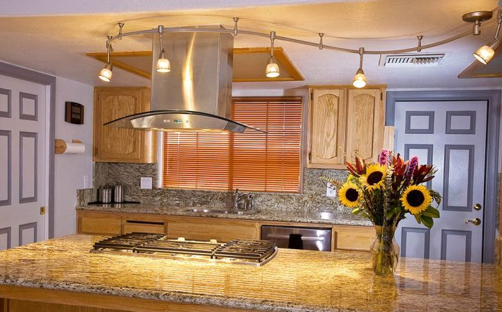 Kitchen Track Lighting Ideas Endearing Kitchen Track Lighting Ideas Main Rules And Basic Principles . Decorating Inspiration