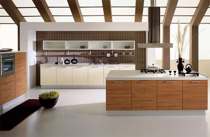 Open kitchen design modern kitchens designs ideas for Open style kitchen cabinets