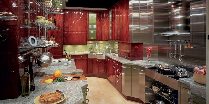 How to make chef kitchen design kitchens designs ideas for Chef kitchen decorating ideas