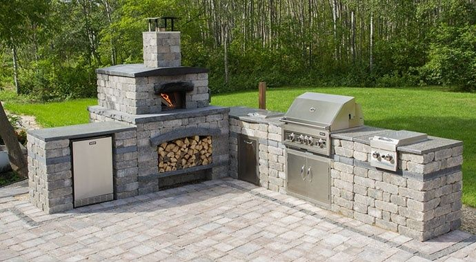 Outdoor kitchen great idea for you kitchens designs ideas for Great outdoor kitchen ideas