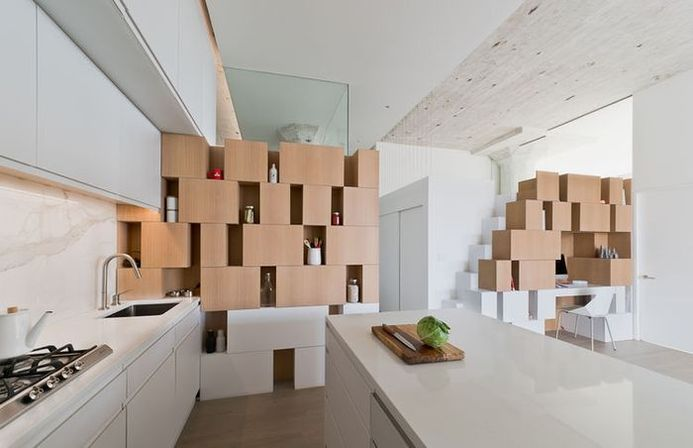 Main features of the prefab kitchen cabinets