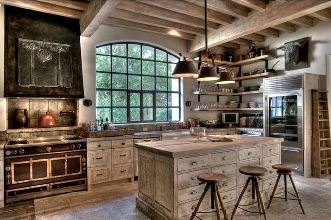 7 ideas for rustic kitchen designs