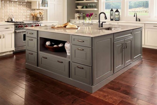 Kitchen should be compact: kraftmaid kitchen cabinets