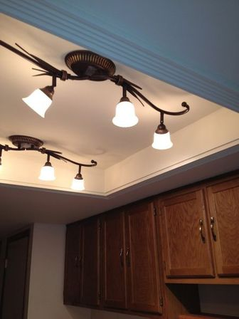 Fluorescent kitchen light fixtures: types and characteristics of ...