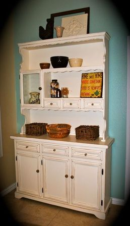 All Three Parts Of A Hutch Could Be Used For Storage Utensils While Open  Parts Play Decorative Role As Well. The Inner Space Of Its Cabinets And  Drawers Can ...