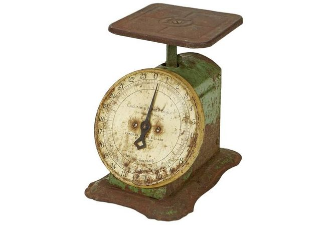 Antique Kitchen Scales Belong To The Same Historical Period As Antique  Kitchen Hutches And Stoves. It Would Be Just Perfect, If Kitchen Has All 3  Items From ...